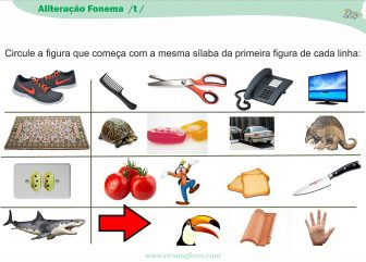 Aliteração Fonema /t/