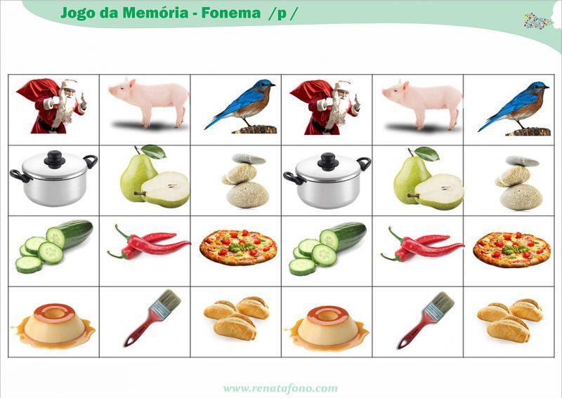 Jogo da Memória – Fonema /p/