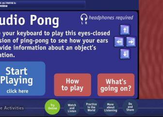 Audio Pong