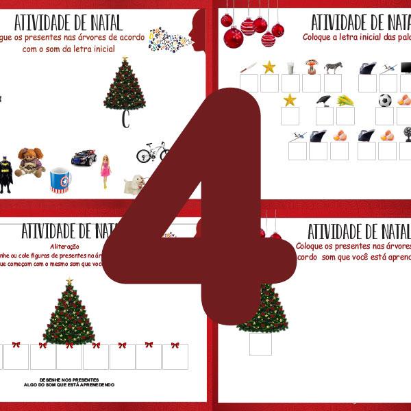 4 atividades especiais de Natal